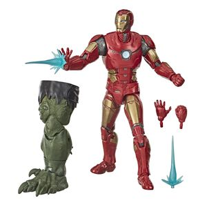 [Avengers: Marvel Legends Action Figure: Video Game Iron Man (Product Image)]
