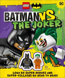 [LEGO Batman: Batman Vs The Joker With Two Lego Minifigures (Hardcover) (Product Image)]