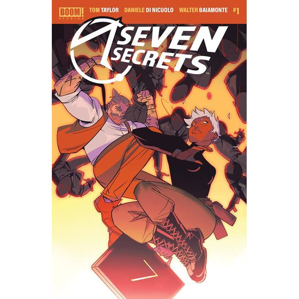 [The cover for Seven Secrets #1 (Main)]