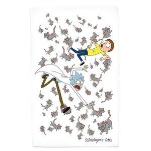 [Rick & Morty: Tea Towel: Schrodinger's Cats (Product Image)]