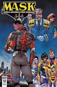 [M.A.S.K.: Mobile Armored Strike Kommand #10 (Cover B Sears) (Product Image)]