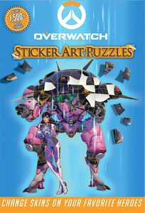 [Overwatch: Sticker Art Puzzles (Product Image)]