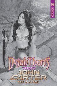 [Dejah Thoris Vs John Carter Of Mars #2 (Cover H Cosplay Black & White Variant) (Product Image)]