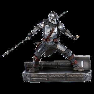 [Star Wars: The Mandalorian: Art Scale Statue: The Mandalorian (Product Image)]