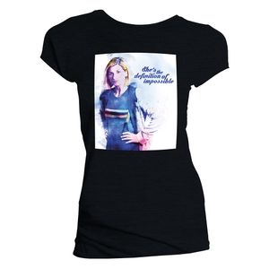 [Doctor Who: Women's Cut T-Shirt: Can You Hear Me? (Web Exclusive) (Product Image)]