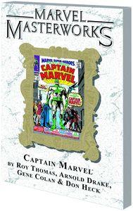 [Marvel Masterworks: Captain Marvel: Volume 1 (DM Variant Edition 50) (Product Image)]