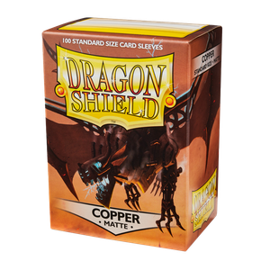[Dragon Shield: Matte Sleeves: Copper (100) (Product Image)]