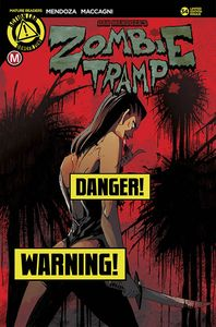 [Zombie Tramp Ongoing #34 (Cover D Maccagni Risque) (Product Image)]