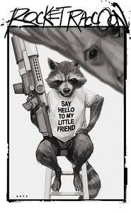 [Rocket Raccoon #8 (Noto Variant) (Product Image)]