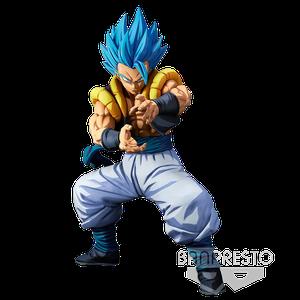 [Dragon Ball: Super: World Figure Colosseum 3: Super Master Stars Piece Statue: Super Saiyan God Gogeta (2D Version) (Product Image)]