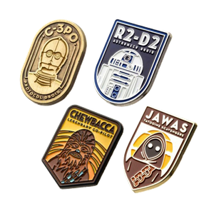 [Star Wars: 4 Pin Set (Product Image)]