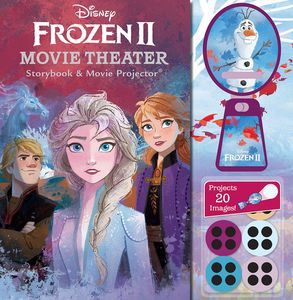 [Disney: Frozen 2: Movie Theater Storybook & Movie Projector (Hardcover) (Product Image)]