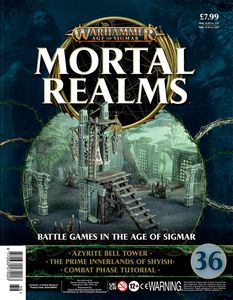 [Warhammer: Age Of Sigmar: Mortal Realms #36 (Product Image)]