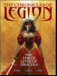 [Chronicles Of Legion: Three Lives Of Dracula (Hardcover) (Product Image)]
