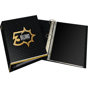 [The Blizzard 30th Anniversary: Pin Portfolio Binder With Exclusive Pin (Hardcover) (Product Image)]