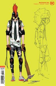 [Batman #96 (Jorge Jimenez Joker Hunter Variant Joker War) (Product Image)]