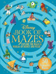 [The Disney Book Of Mazes: Explore The Magical Worlds Of Disney & Pixar (Hardcover) (Product Image)]