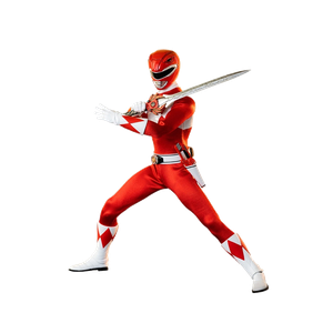 [Power Rangers: Action Figure: Mighty Morphin Red Ranger (Product Image)]