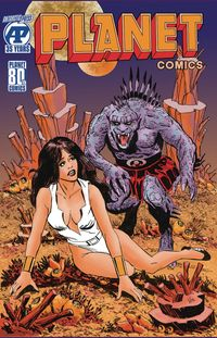 [The cover for Planet Comics #1 (Cover A)]