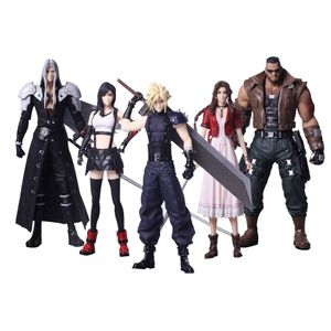 [Final Fantasy VII Remake: Trading Arts Figures: Characters (Set Of 5) (Product Image)]