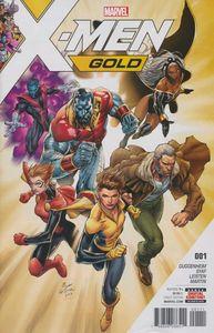 [X-Men: Gold #1 (Product Image)]