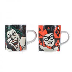 [Batman: Mini Mug Set: Joker & Harley Quinn (Product Image)]