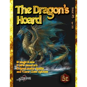 [The Dragon's Hoard #5 (5th Edition Compatible) (Product Image)]