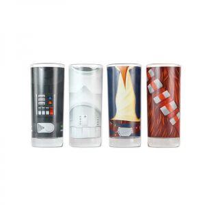 [Star Wars: Glasses: Character Torso (Set Of 4) (Product Image)]