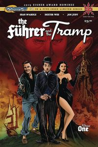 [The cover for Fuhrer & The Tramp #1]