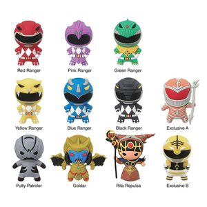 [Power Rangers: 3D Figural Keychains: Series 1 (Product Image)]