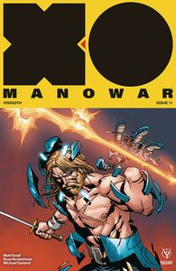 [X-O Manowar (2017) #11 (Cover B Camuncoli) (Product Image)]