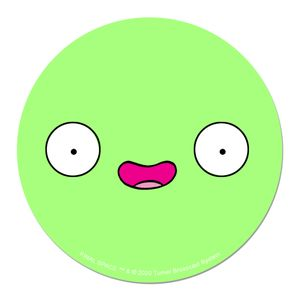 [Final Space: Coaster: Mooncake Smile (Product Image)]