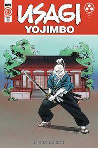 [Usagi Yojimbo #21 (Cover B Soo Lee Variant) (Product Image)]