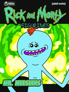 [Rick & Morty Figurine Collection #3: Mr Meeseeks (Product Image)]