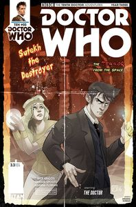 [Doctor Who: 10th Doctor: Year Three #3 (Cover D Florean) (Product Image)]