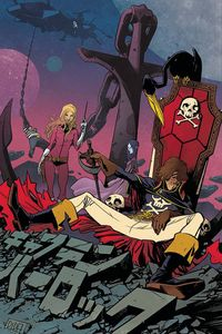 [Space Pirate: Captain Harlock #4 (Cover F Perez Virgin Variant) (Product Image)]