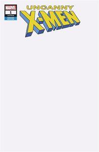 [Uncanny X-Men #1 (Blank Variant) (Product Image)]