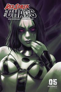 [Red Sonja: Age Of Chaos #5 (Chew Monochromatic Variant) (Product Image)]