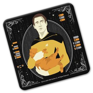 [Star Trek: The Next Generation: The 55 Collection: Coaster: Ode To Spot (Product Image)]