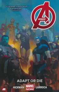 [Avengers: Volume 5: Adapt Or Die (Product Image)]
