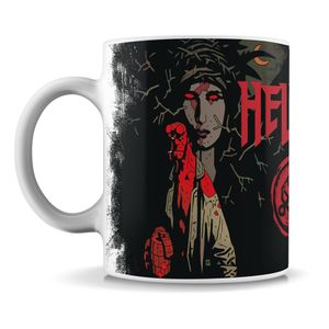 [Hellboy: Mug: The Blood Queen By Mike Mignola (Product Image)]
