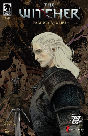 [The cover for The Witcher: Fading Memories #1]