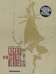 [Legend Of The Scarlet Blades: Deluxe Edition (Hardcover) (Product Image)]