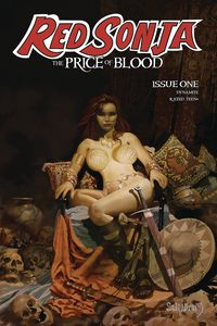[The cover for Red Sonja: Price Of Blood #1 (Cover A Suydam)]