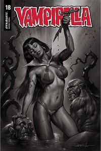 [Vampirella #18 (Parrillo Black & White Variant) (Product Image)]