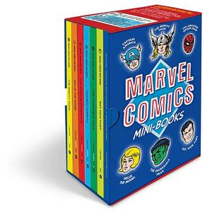 [Marvel Comics: Mini Books (Hardcover) (Product Image)]