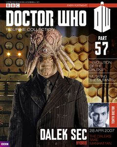 [Doctor Who: Figurine Collection Magazine #57 Dalek Sec (Product Image)]