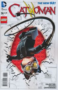 [Catwoman #36 (Lego Variant Edition) (Product Image)]