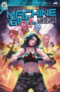 [Machine Girl & Space Invaders #4 (Product Image)]