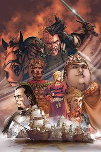 [George R.R. Martin's A Clash Of Kings #3 (Rubi Virgin Variant) (Product Image)]